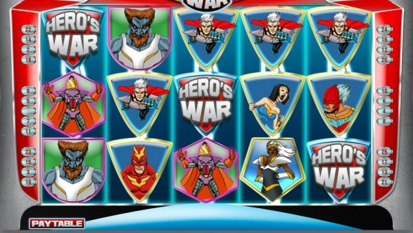 Top Superhero Slots games for 2014