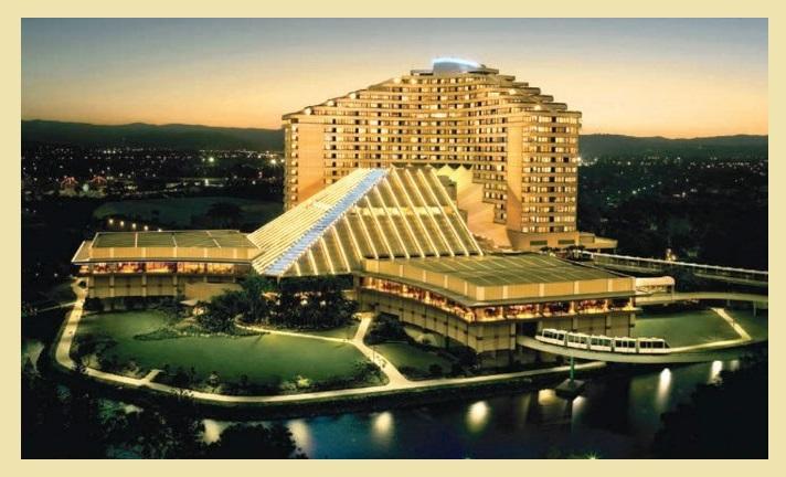 Jupiters casino hotel view
