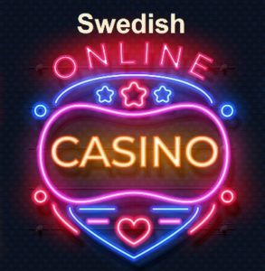 Swedish Online Casinos neon signs